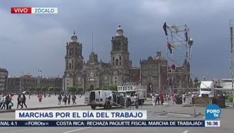 Cierran Vialidades Permitir Paso Manifestantes Centro Histórico