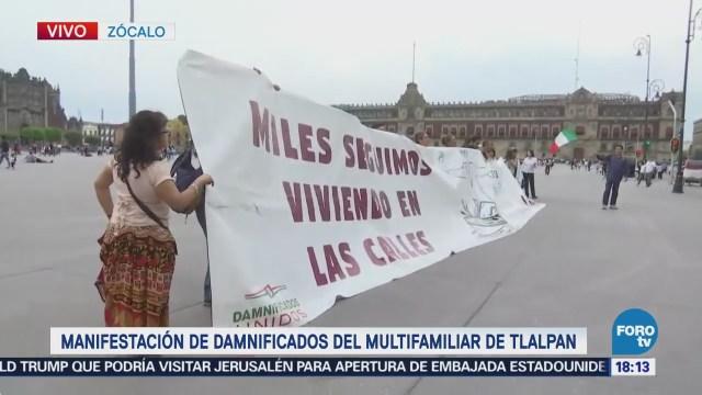 Damnificados 19S Demandan Liberación Recursos