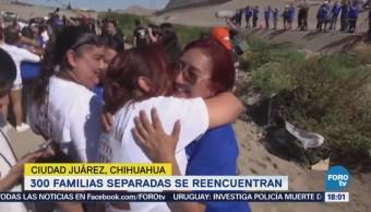 Familias Separadas Se Reencuentran Ciudad Juárez