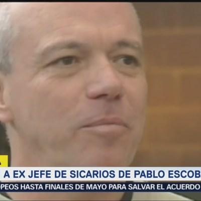 Detienen a exjefe de sicarios de Pablo Escobar