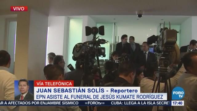 Enrique Peña Nieto Acude Funeral Jesús Kumate