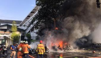 México condena ataques terroristas en Indonesia