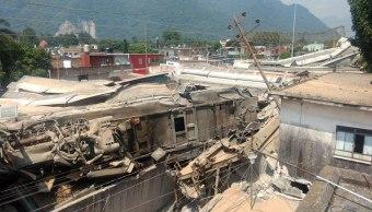 Choque de dos trenes en Veracruz deja 7 heridos