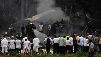 llegan restos mexicanos fallecidos avion cuba