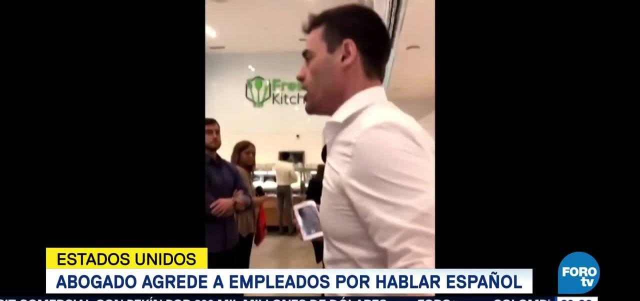 Abogado Agrede Empleados Hablar Español Estados Unidos