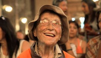 abuelita peregrina visita basilica guadalupe segunda ocasion