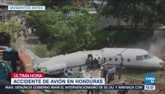 Accidente Avión Honduras Deja Seis Estadounidenses Heridos