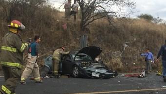 Accidente carretero en Jamay, Jalisco, deja cuatro muertos