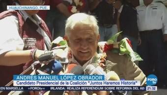 Actividades Andrés Manuel López Obrador Puebla Estado De México
