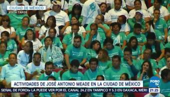 Actividades José Antonio Meade Ciudad De México