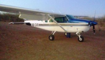 Aseguran aeronave sospechosa cargada con hidrocarburo en Bácum, Sonora