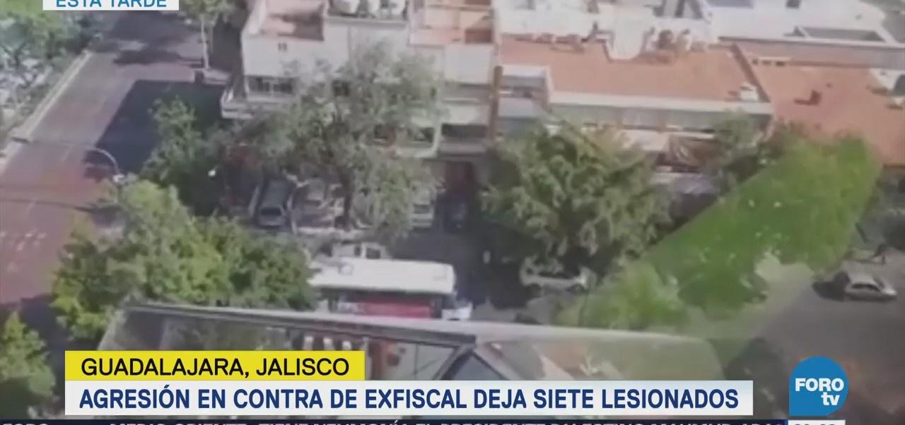 Agreden a balazos al exfiscal de Jalisco