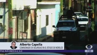 Alberto Capella: Hay condiciones para realizar elecciones en Amacuzac