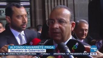 Alfonso Navarrete Habla Renuncia Margarita Zavala