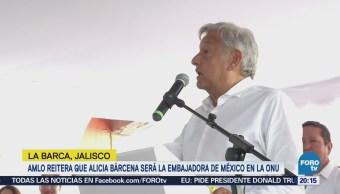 AMLO propone a Alicia Bárcena como embajadora