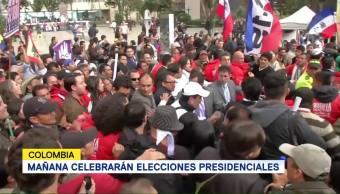 Mañana Celebrarán Elecciones Presidenciales Colombia