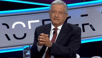 Andrés Manuel López Obrador expone sus postulados de campaña en Tercer Grado