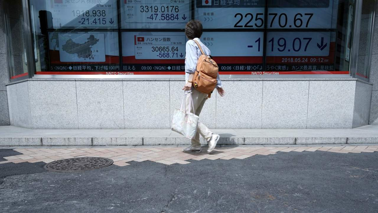 Bolsas de Tokio y Shanghái pierden por cancelación de cumbre