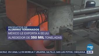 Aranceles Aluminio No Afectarán Empresas México Beltrán