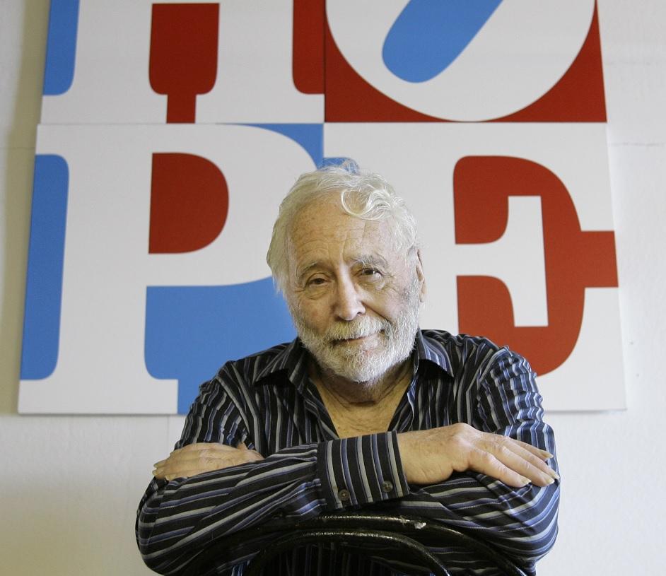 Fallece Robert Indiana, creador de las populares esculturas 'LOVE'