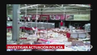 Ascienden a 35 mdp las pérdidas por saqueo en tienda de Arcelia