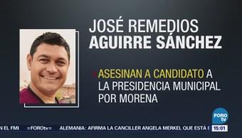 Asesinan a candidato de Morena en Guanajuato