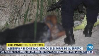 Asesinan Hijo De Magistrado Electoral Guerrero