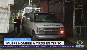 Asesinan a hombre identificado como comerciante de Tepito, en la CDMX