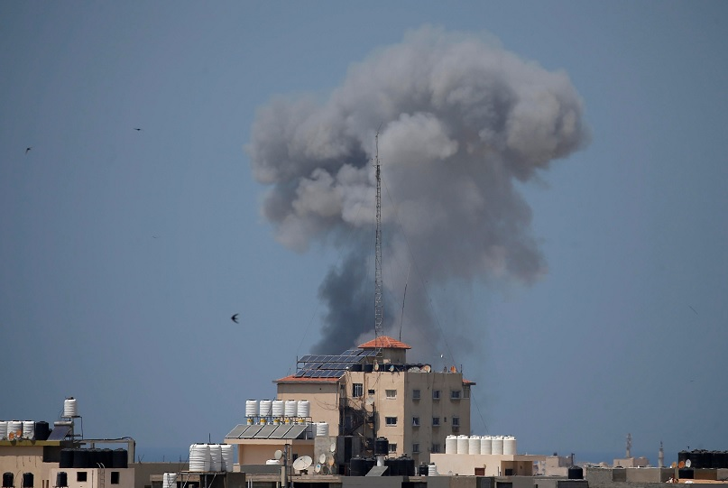 Hamas lanza proyectiles Israel; Netanyahu promete responder