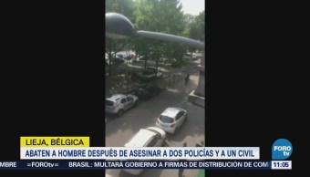 Autor de tiroteo en Lieja gritó 'Alá es grande'