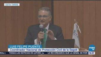 Autoridades Permiten Construir Zonas Riesgo Luis Felipe Puente, coordinador nacional de Protección Civil de Segob,