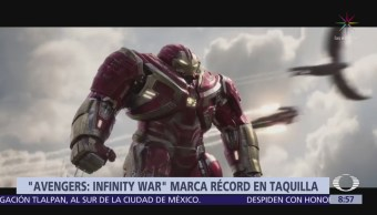 Avengers: Infinity war recuada 900 mdd en taquilla