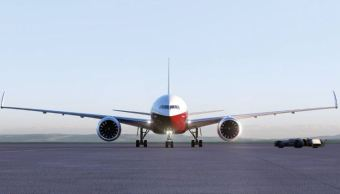 Rayo impactó avión aterrizaba México Paz Baja