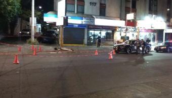 Riña afuera de un bar deja un muerto en CDMX