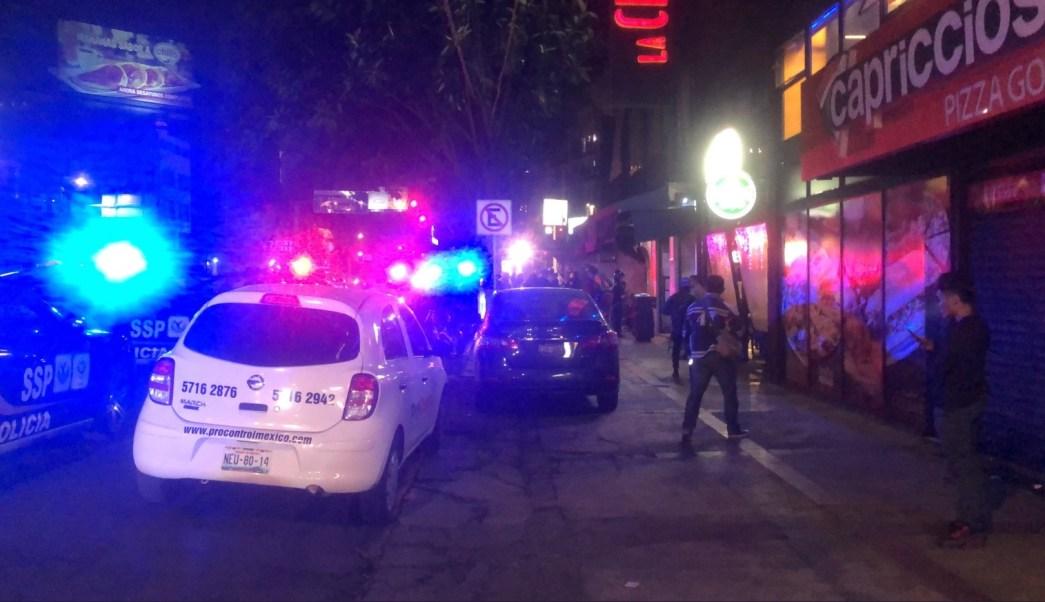 Balacera bar colonia Del Valle deja muerto y herido