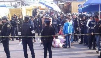 Balacera en Peñón de los Baños deja dos muertos; hay dos detenidos
