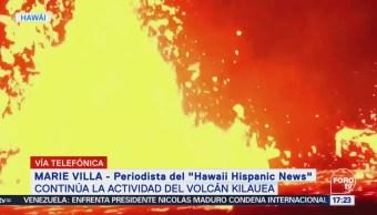 Brotes Lava Volcán Kilauea Generan Alerta Hawai