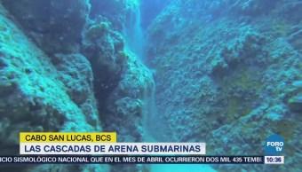 Buzos experimentados pueden apreciar las cascadas submarina