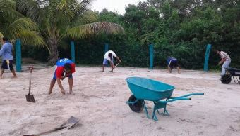 Campeche realiza acciones para disminuir erosión marina
