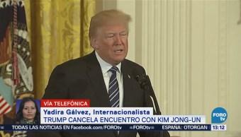 Cancelación cumbre Trump-Kim provoca tensión internacional