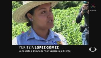 Candidata de Guerrero propone legalizar amapola