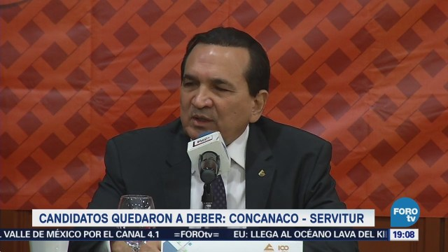 Candidatos Quedaron Deber Concanaco-Servitur
