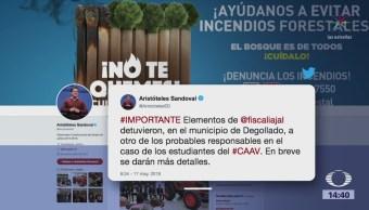 Capturan a otro implicado en el asesinato de estudiantes en Jalisco