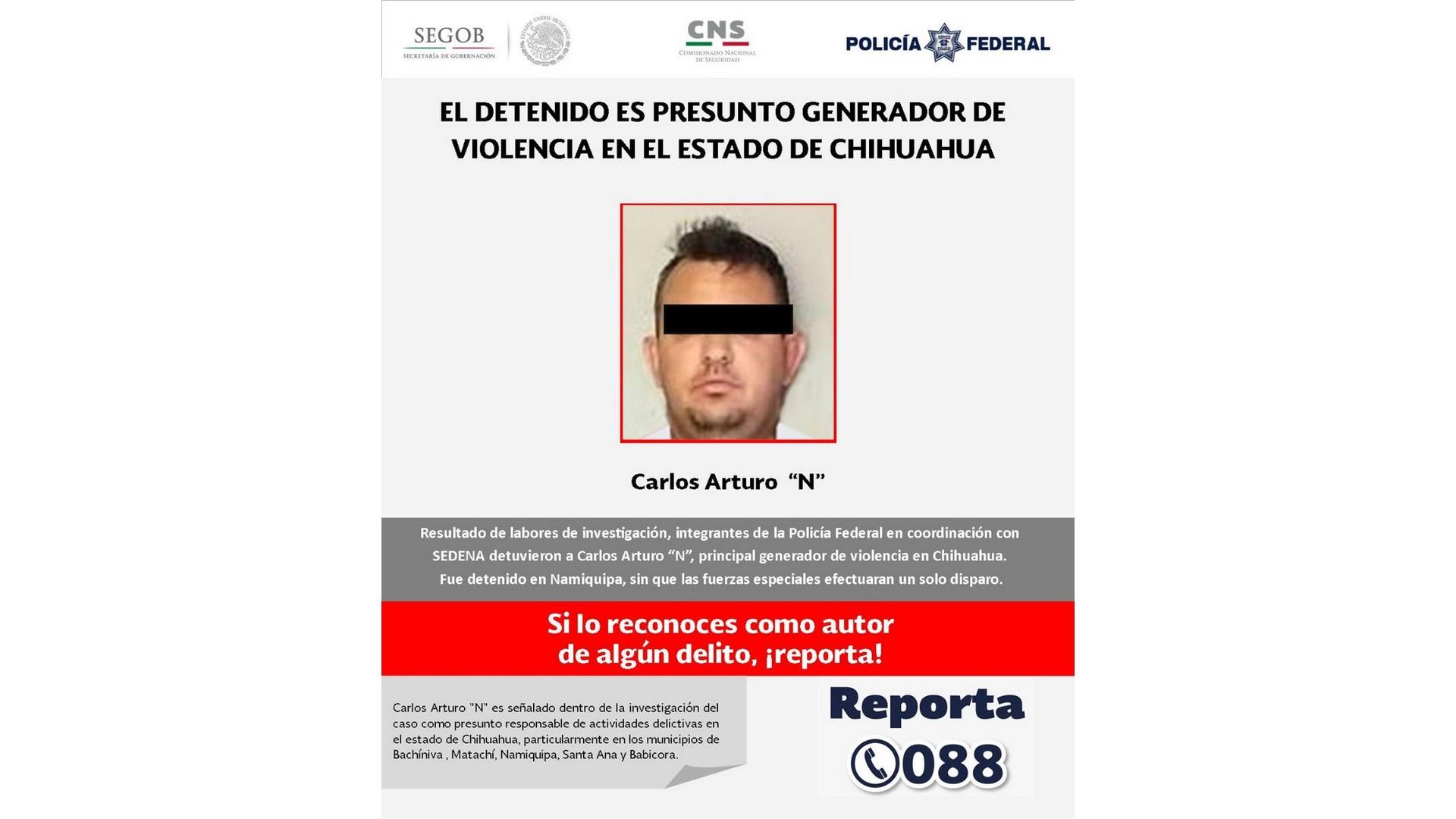 Capturan a 'El 80', presunto operador del grupo La Línea