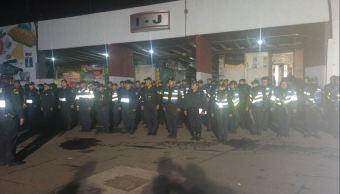 SSP-CDMX refuerza la seguridad en la Central de Abasto