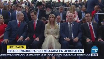 Ceremonia de apertura de la embajada de EU en Jerusalén