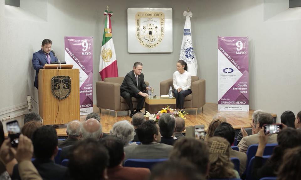 Claudia Sheinbaum se reúne con empresarios de la Ciudad de México
