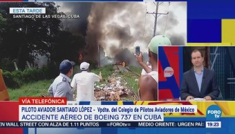 Accidente Aéreo Cae Avión Pasajeros Cuba