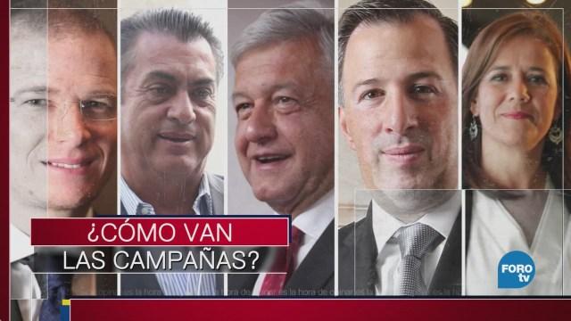 Qué candidatos tienen las mejores campañas
