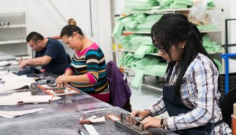 Confianza empresarial de manufacturas mantiene avance